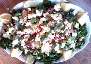 salade feta radijs