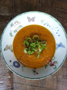 pompoen soep 2